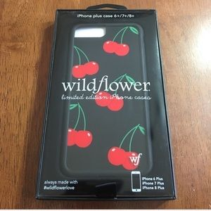 Wildflower Cherry iPhone Case 6, 7, or 8 plus